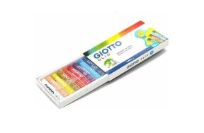 OIL PASTELS GIOTTO 12 COLORS